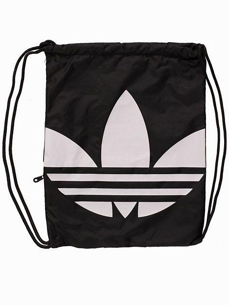 Gymsack Trefoil - Adidas Originals - Svart - Väskor - Accessoarer - Kvinna - Nelly.com
