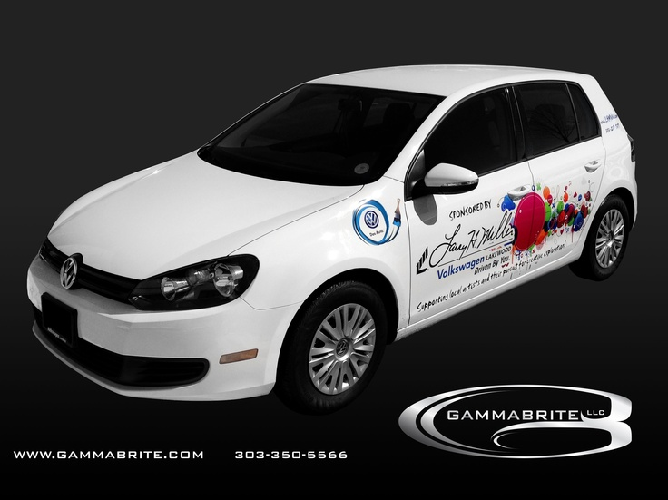 Vehicle Wrap for Larry H Miller Volkswagen by GammaBrite