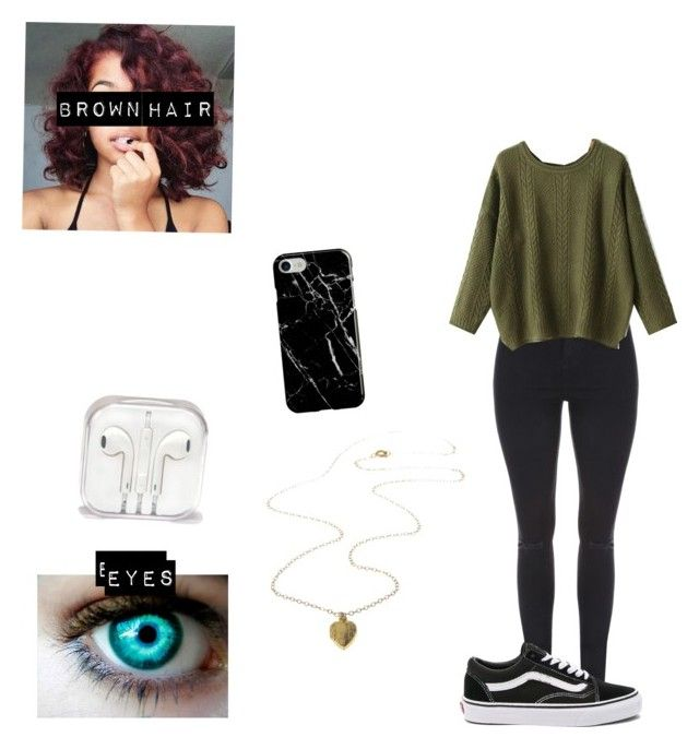 """Aria Esarias shameless season 1 outfit #2"" by garnet1626 ❤ liked on Polyvore featuring Jane Norman, M&Co, WithChic, Vans and Recover"