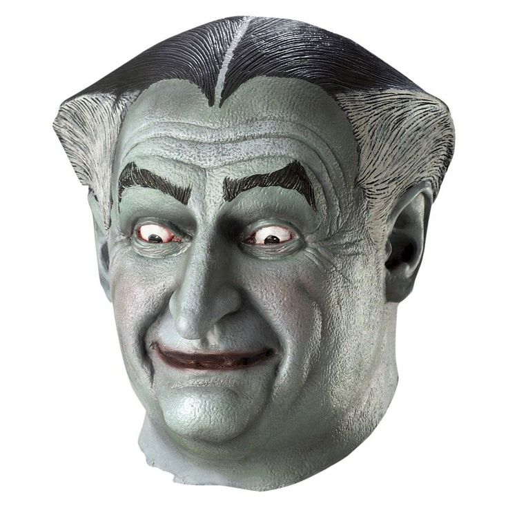 Munsters Grandpa Mask, Men's, Multi-Colored