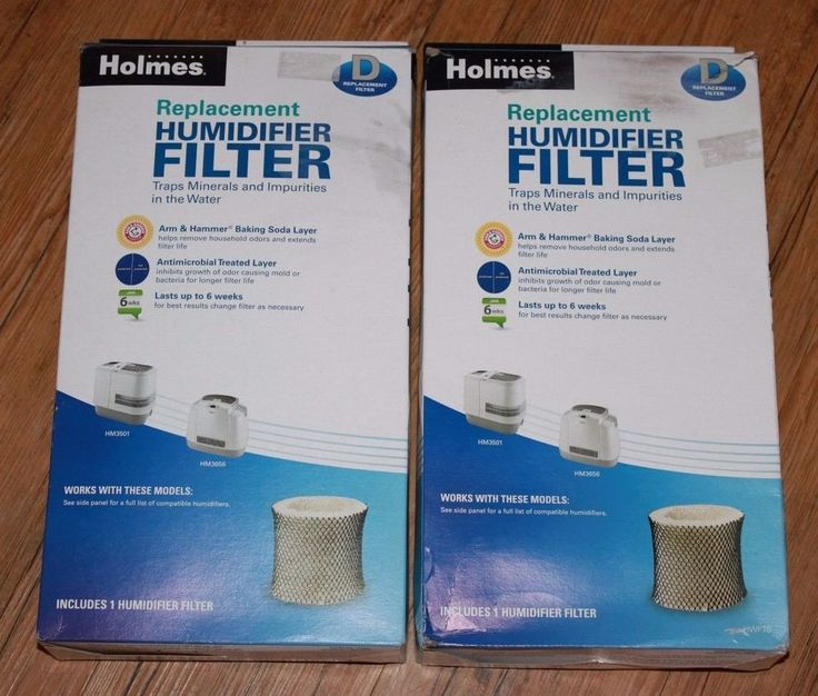 2 Genuine Holmes Humidifier Replacement Filters D Model HWF75 NEW HM3501 HM3656 #Holmes