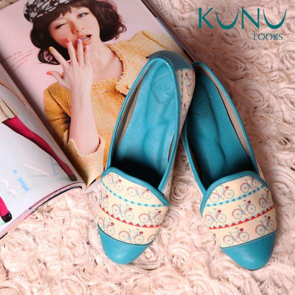 BIKE ME TOSCA Flat Shoes sepeda etnik Kunu Looks