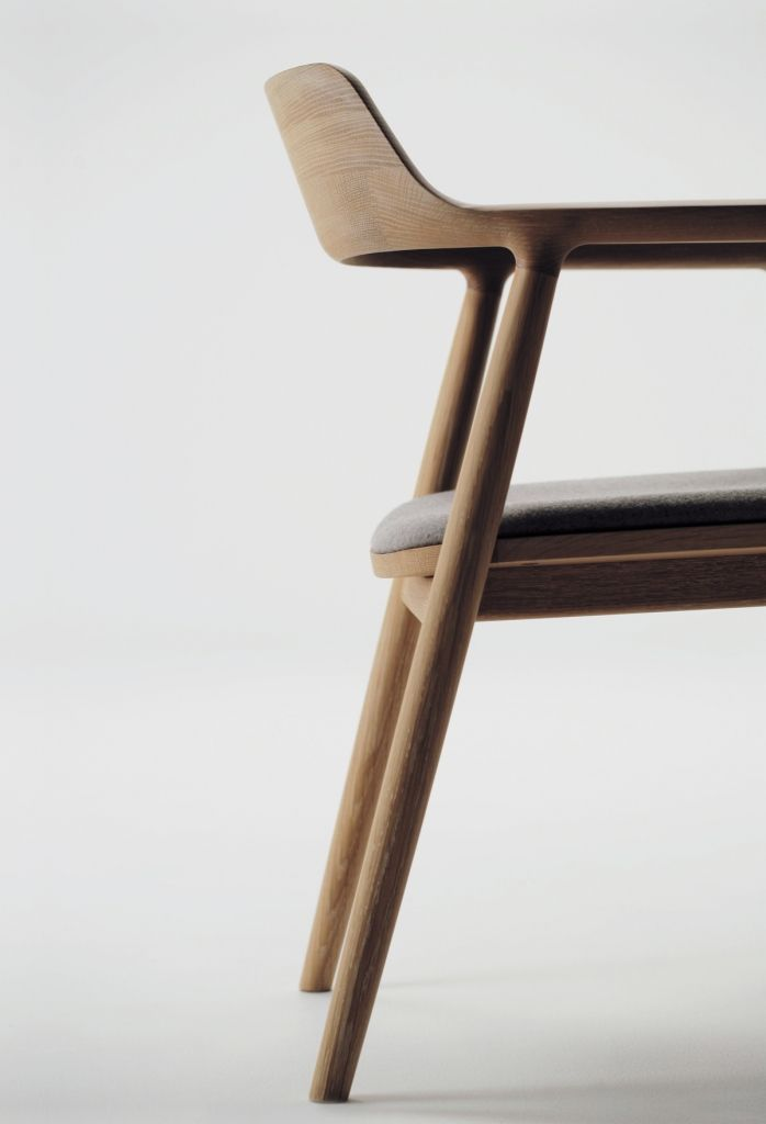 Hiroshima Arm Chair Upholstered | SeehoSu