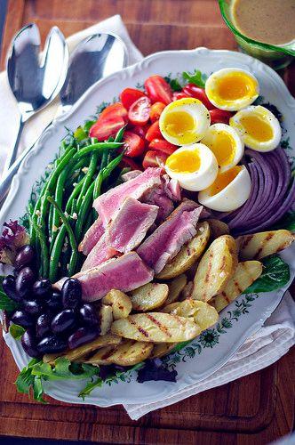 Nicoise Salads on Pinterest | Potato salad, Tuna and Tuna pasta salads ...