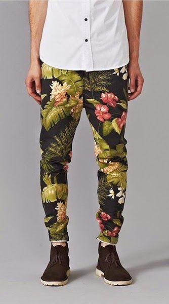 Macho Moda - Blog de Moda Masculina: Calças Estampadas Masculinas, você usaria?