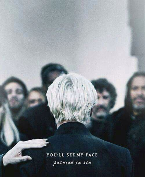 You'll see my face....