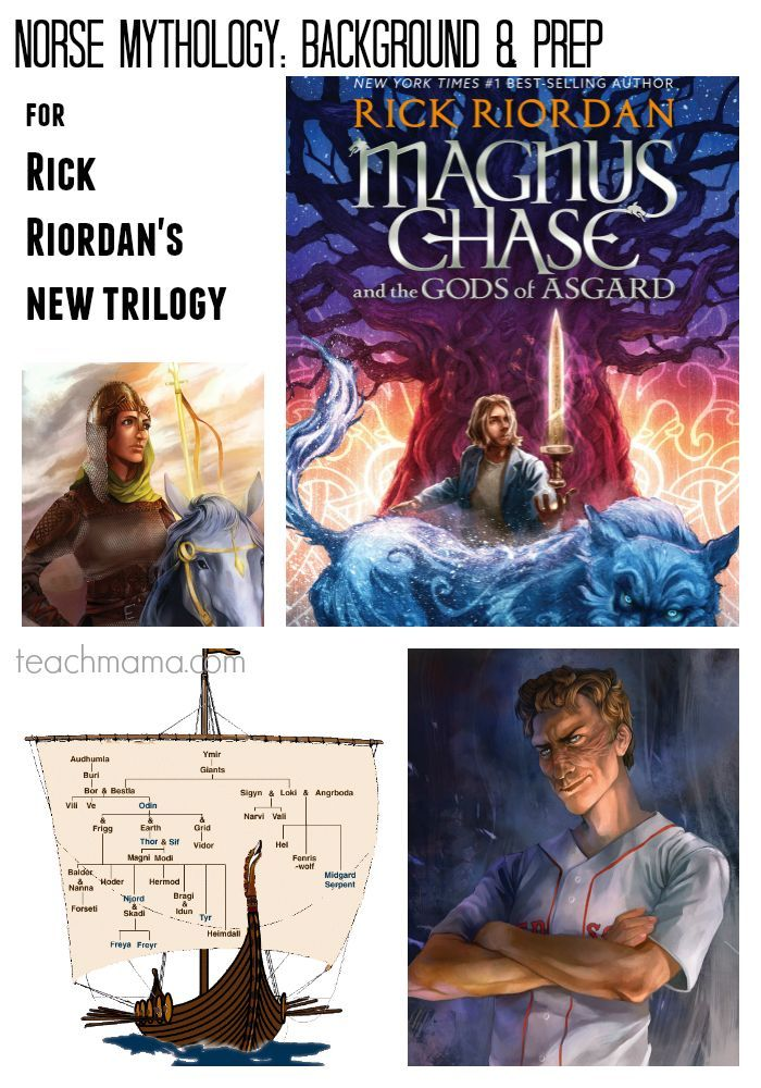 norse mythology background and prep | for understanding of rick riordan's magnus chase, book 1 | teachmama.com @teachmama