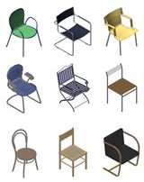 Furniture blocks - free dwg Furniture