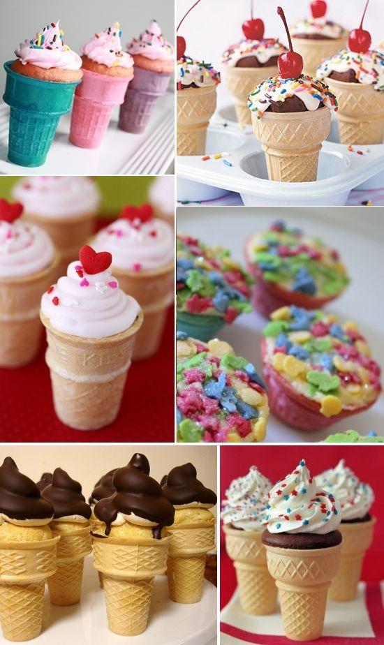 Lovilee recipes - Cake in a cone | Desserts | Pinterest