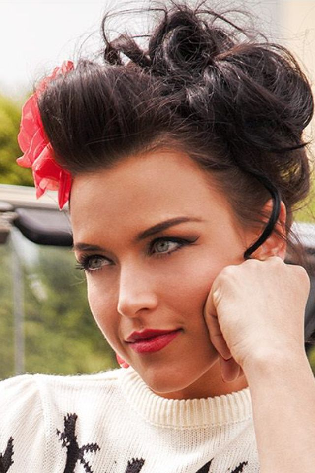 43 Best Images About Hairstyles Rockabilly ♡ On
