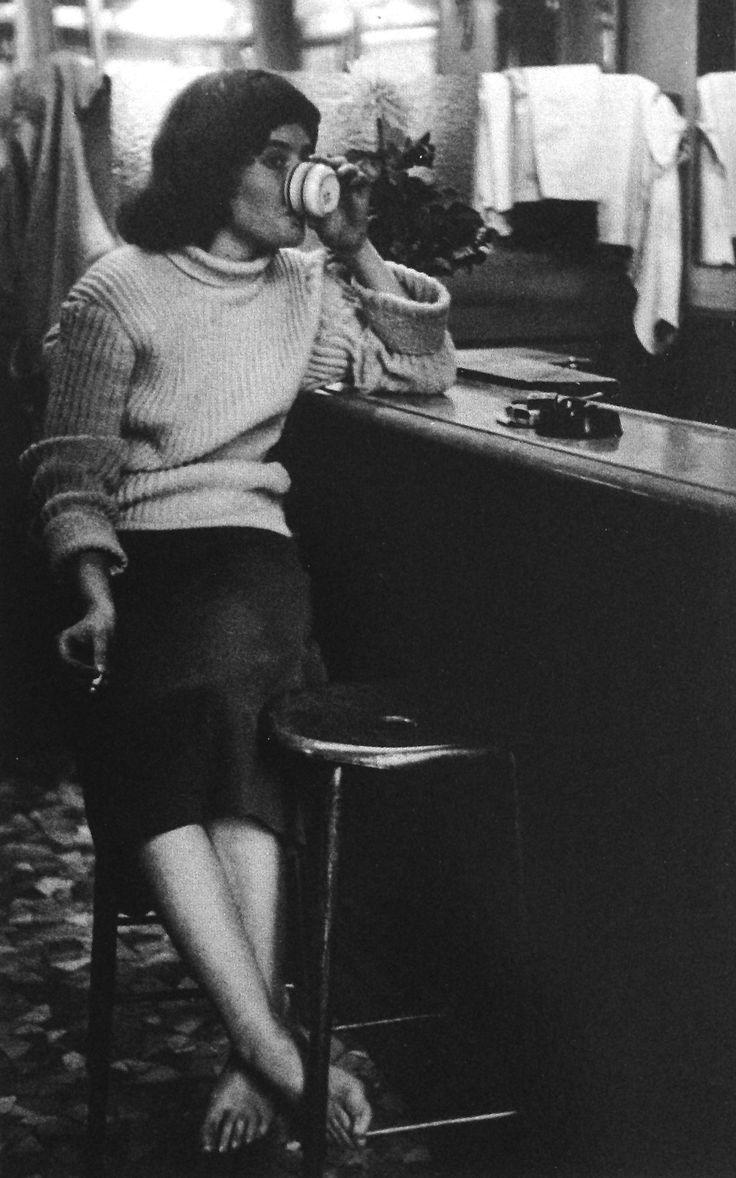 by  Ed van der Elsken Paris, 1956
