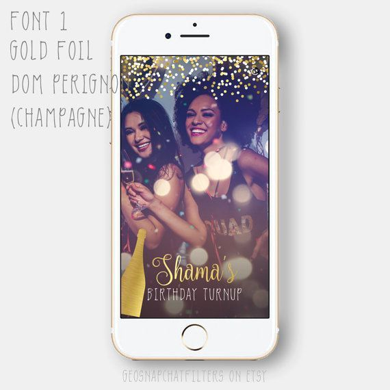 Champagne Hennessy Cognac Ciroc Vodka Jameson Whisky Whiskey Birthday Balloon Bday Quinceanera Debut Snapchat Geofilter Confetti Filter