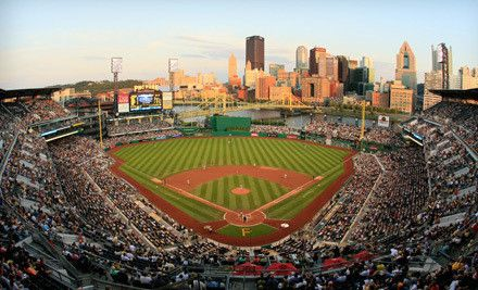 PITTSBURGH, PA - Pittsburgh Pirates – PNC Park  Major League Baseball Game (Up to 41% Off). Three Seating Options and Seven Games Available.