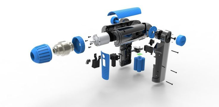 Exloded View Power Drill