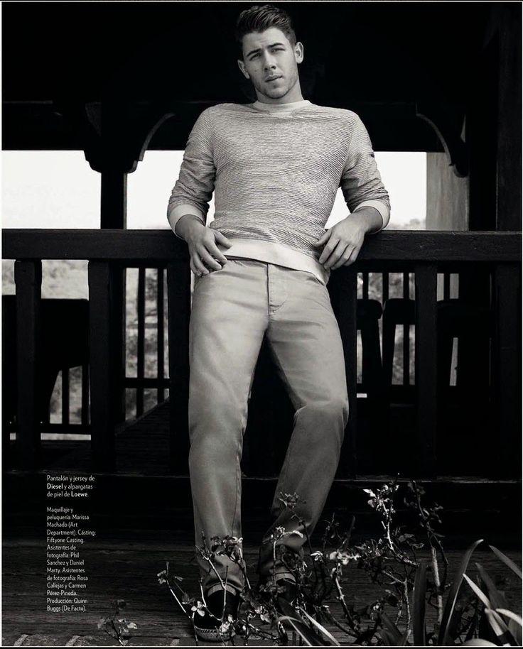 Nick Jonas para ICON Magazine