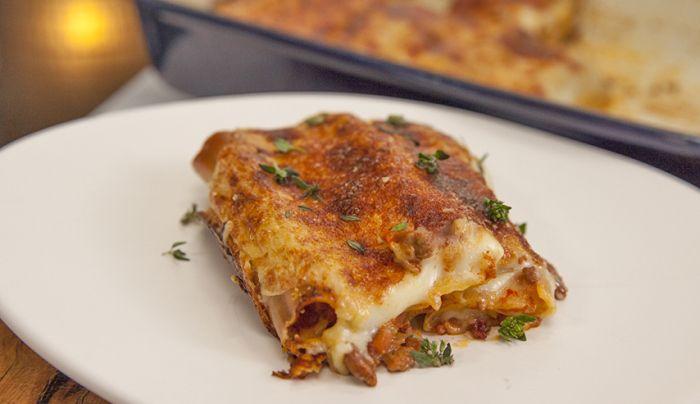 Wagyu Beef and Mushroom Cannelloni - Good Chef Bad Chef
