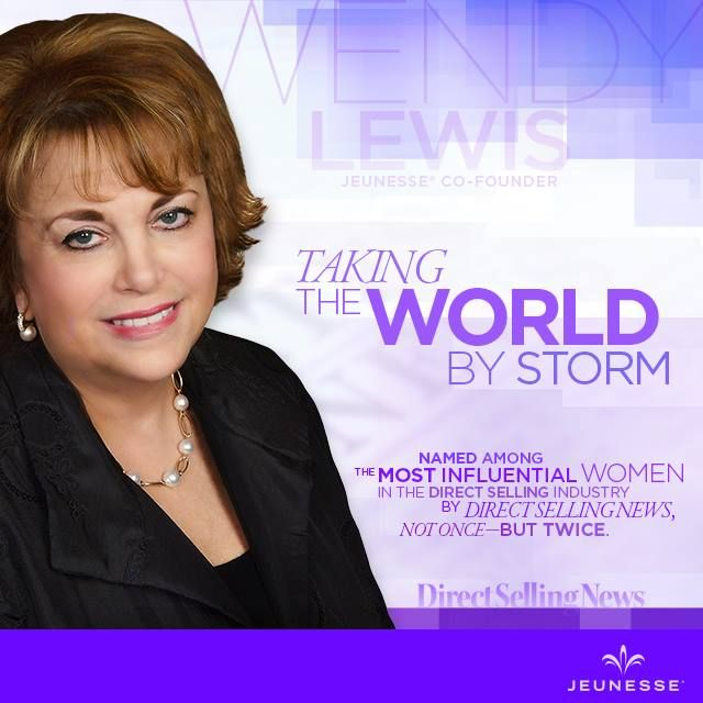 Did you know our Co-Founder, Wendy Lewis, was named one of the most influential women in the direct selling industry by Direct Selling News? Not once - BUT TWICE! Read more about Wendy here: http://bit.ly/WendyLewis