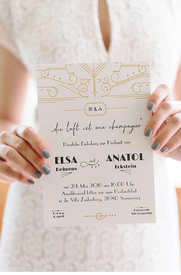 Carissimo Letterpress - stilvolle und individuelle Hochzeitspapeterie