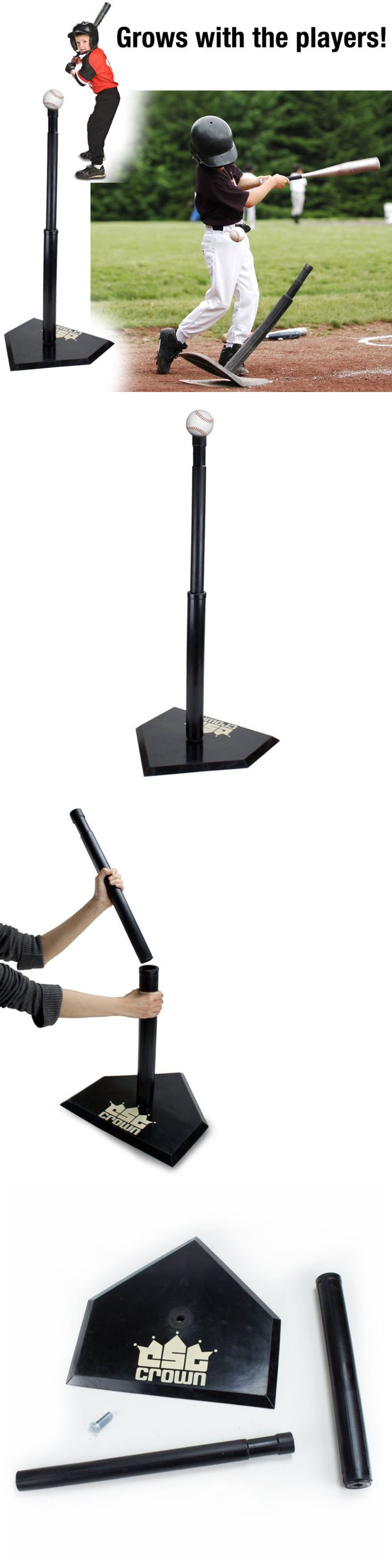 Batting Tees 108139: Heavy Duty Adjustable Height Baseball And Softball Batting Tee Training Stand New -> BUY IT NOW ONLY: $49.58 on eBay!