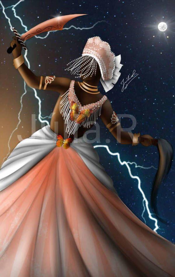 Oya by jumqwt74jagry7 | Oya orisha, Orisha, African goddess