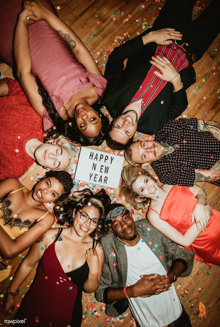 Download premium photo of People celebrating at a new