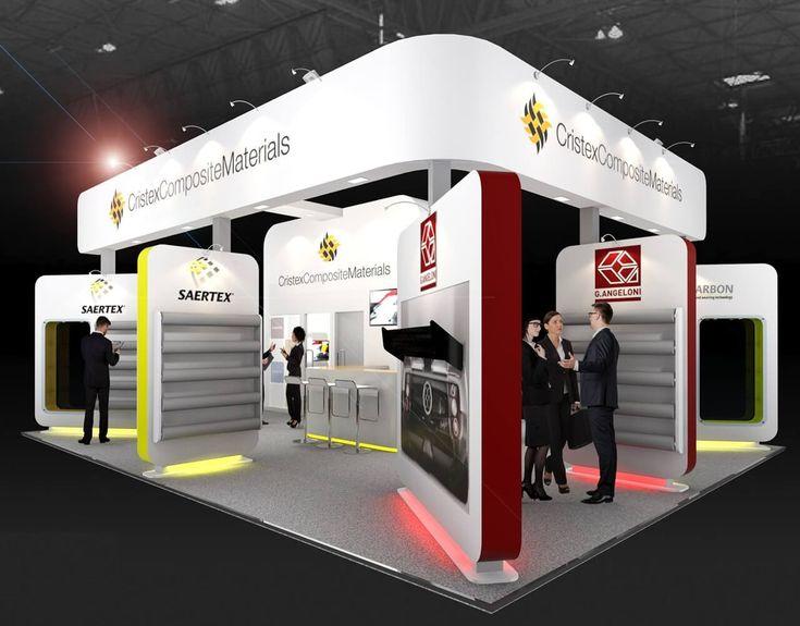9m x 7m exhibition stand design