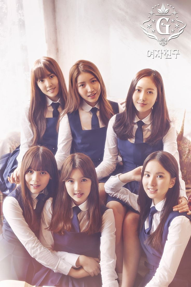 "Gfriend Snowflake ""Rough"" 2016"