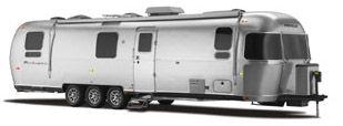 Airstream Panamerica Toy Hauler Travel Trailer