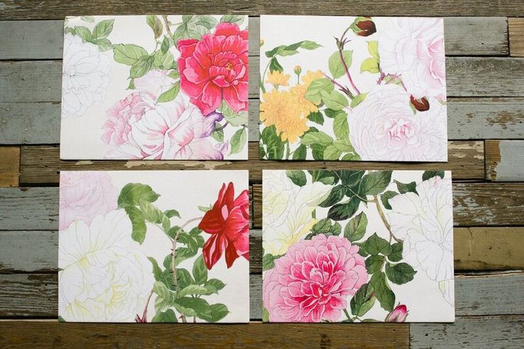 Spring Study Series Prints | Magnolia Market | Living Room | Wall Decor | Chip & Joanna Gaines | Waco, TX