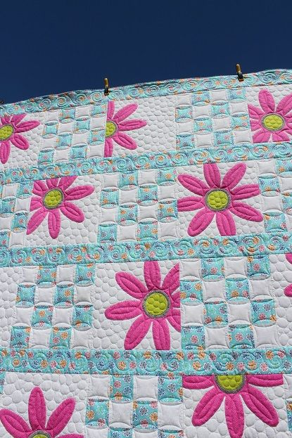 197 best 9 patch challenge images on Pinterest | Quilt patterns ... : shadowed daisy quilt pattern free - Adamdwight.com