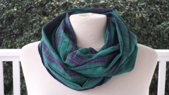 plus grand choix comment acheter luxe Snood écharpe tube tour du cou foulard /coton/femme ...