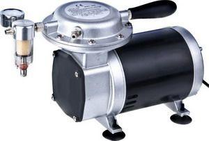 Pompa vakum ( vacuum pump ) adalah sebuah alat untuk mengeluarkan molekul-molekul gas dari dalam sebuah ruangan tertutup untuk mencapai teka...