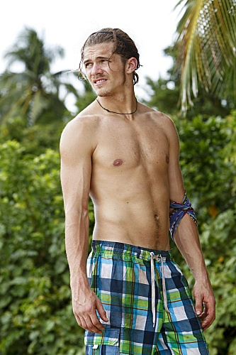 Survivor Philippines ~ Season 25 ~ (2012) ~ Player: Malcolm Freberg ~ Age: 25 ~ From: Hermosa Beach, CA ~ HoT! hOT! hoT! ~ ♥