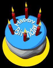 Happy Birthday Cakes Gif Images | Happy Birthday Gif