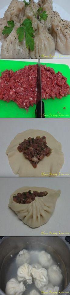 Хинкали - пошаговый рецепт с фотоКулинарные рецепты