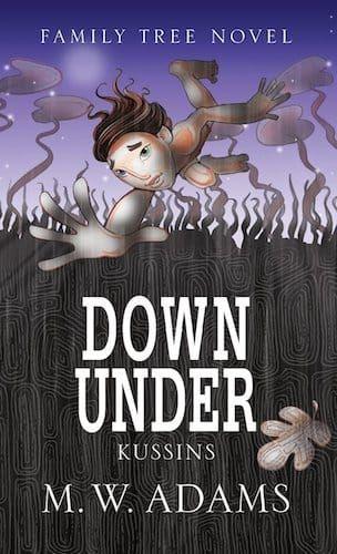 Down Under- Kussins by Mark Wayne Adams