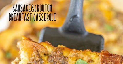Wurst & Crouton Frühstücksauflauf | Plain Chicken®