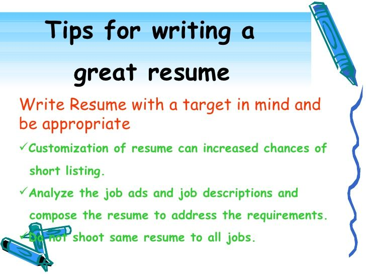 Continuing to keep a superior level resume will make your