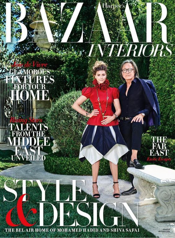 Millionaire Mohammed Hadid, the father of models Gigi and Bella Hadid, opened the doors of his luxury home for Harper Bazaar Arabia.  ...