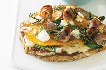 Pumpkin Pita Pizza
