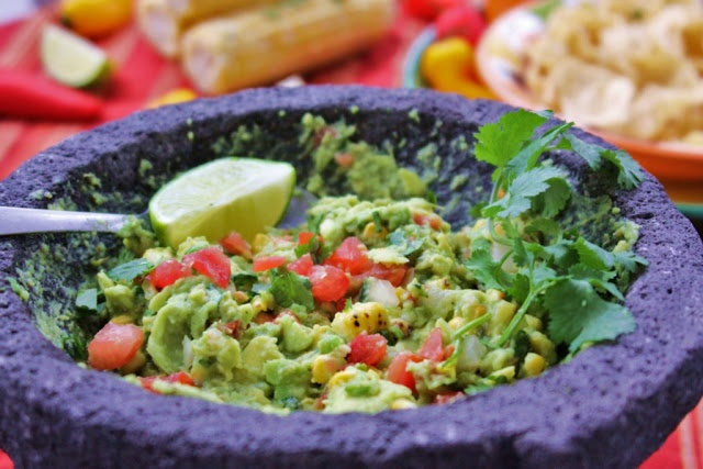 Fire Roasted Corn Guacamole | POYG™ (pork out your grief ...