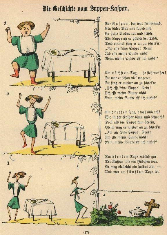 H. Struwwel - Der Struwwelpeter - remember reading this in class...