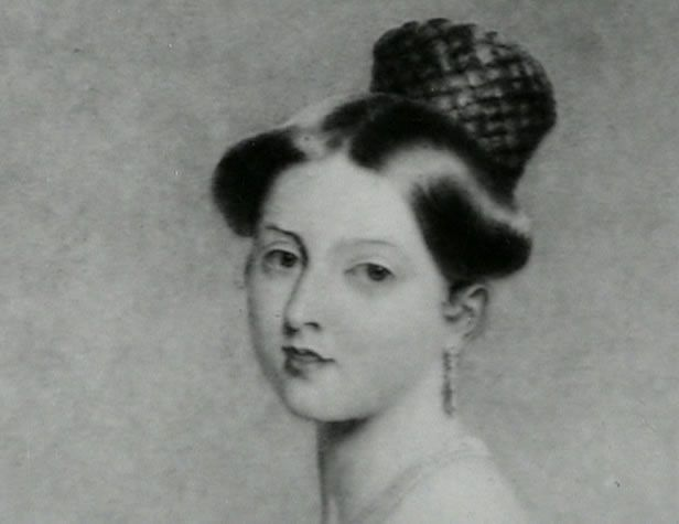 A young Victoria.