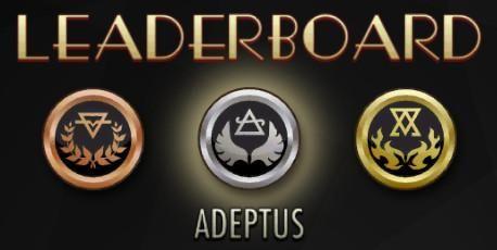 Adeptus Leaderboard Embedded image permalink