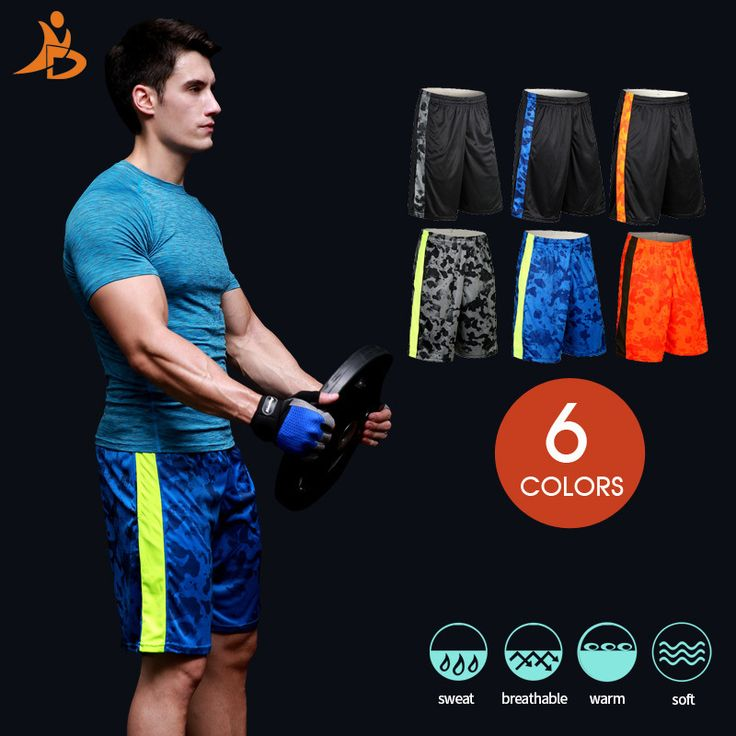 New Soccer Men Shorts For Summer Quick Dry Loose Running Shorts Outdoor Training Sport elastic Clothes GYM Breathable Mens short #Affiliate