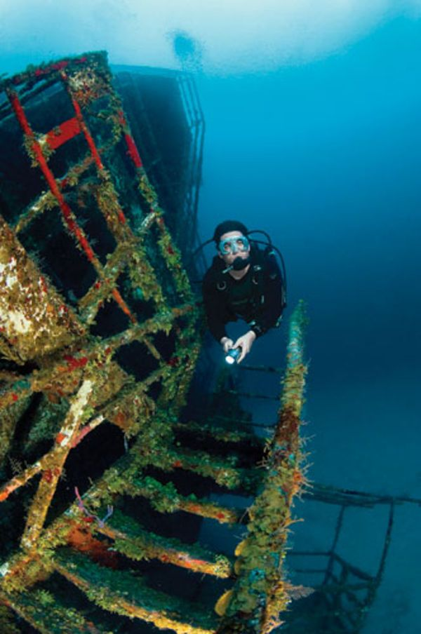 There's no better way to spice up a dive destination than by adding a wreck. We've compiled a guide to our favorite purpose-sunk wreck dives.