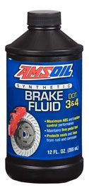 DOT 3 and DOT 4 Synthetic Brake Fluid Product Image