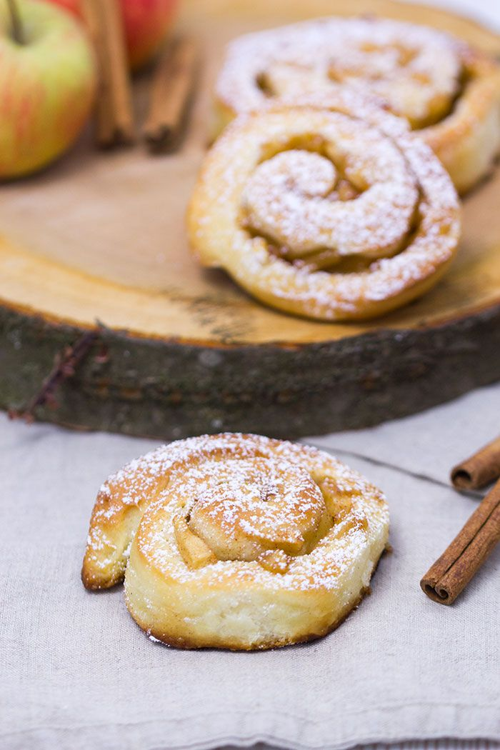 Apfel-Zimtschnecken | verzuckert-blog.de