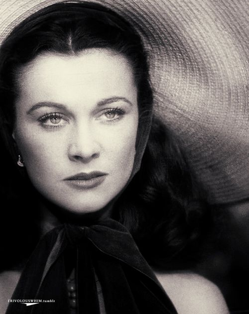 Vivien Leigh as Miss Scarlett O'Hara, Gone with the Wind, 1939