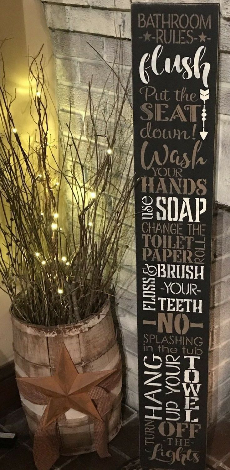 no clue where i d put this sign in my bathroom but i love it rh pinterest ch